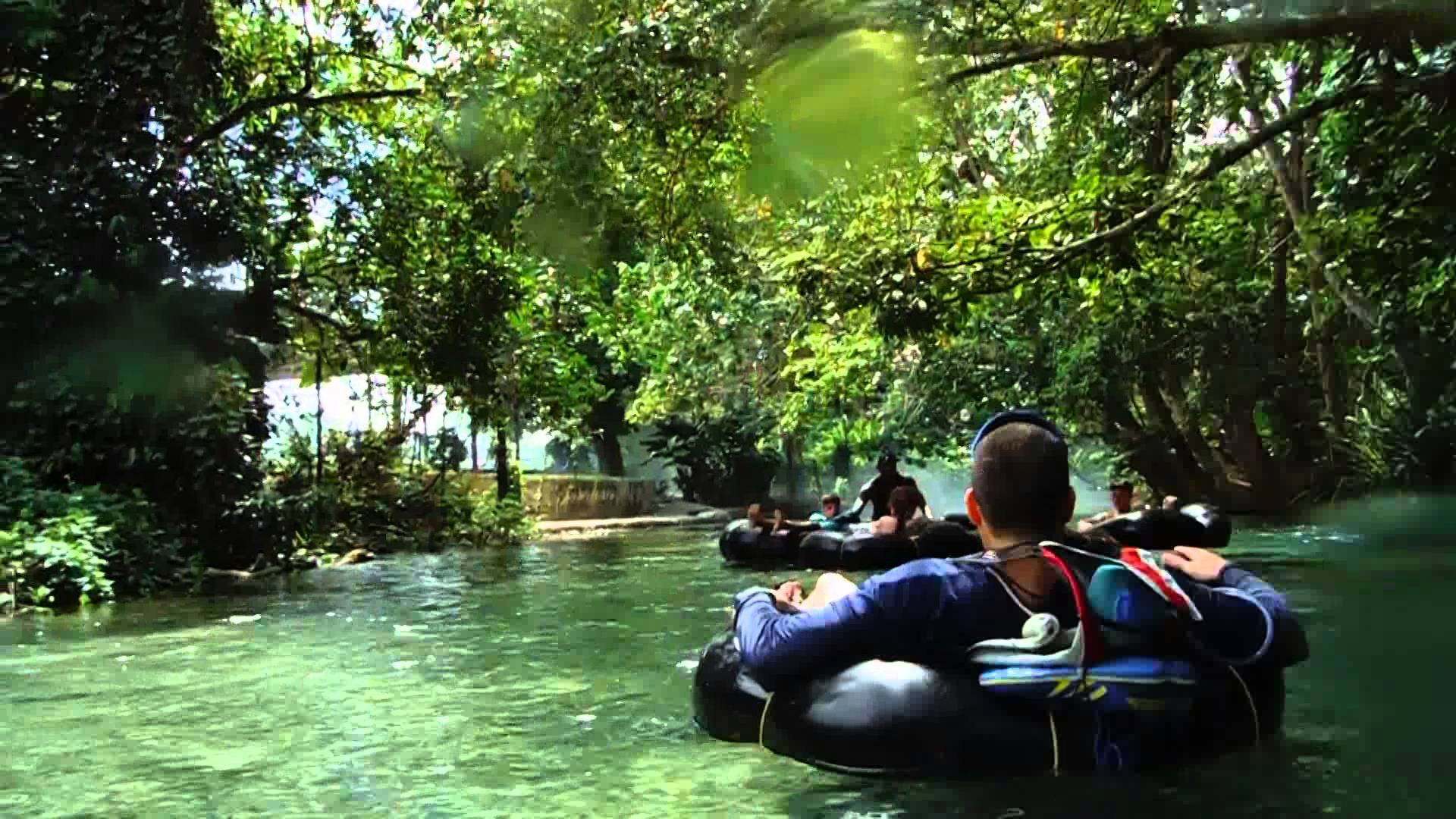 Rapid River Tubing In Falmouth Travel Jamaica Tours